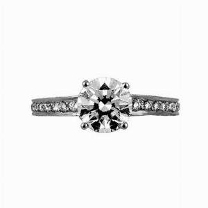 Brilliant Cut Solitaire 1.71ct GSI1 GIA